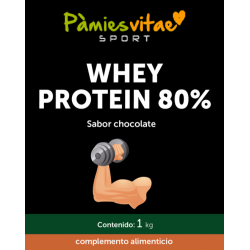 Whey Protein 80% PV (1 Kg)