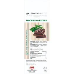 CHOCOLATE CON STEVIA -COOP.D.R.-